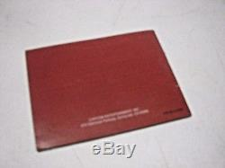 Manual ONLY for SHANTAE NINTENDO GAMEBOY COLOR GAME