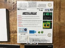 Metal Gear Solid Gameboy Color OVP / CIB PAL / EUR MINT