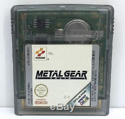 Metal Gear Solid (Nintendo Game Boy Color, 2000) European Version