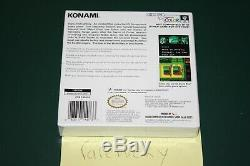 Metal Gear Solid (Nintendo Game Boy Color) NEW SEALED H-SEAM, NEAR-MINT & RARE
