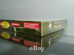 NEAR MINT NO CREASES Pokemon Gold Version Game Boy Color Factory Sealed NEW