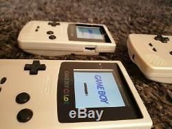 NEW Fullscreen Nintendo Game Boy Color 5 Level True IPS Backlit Backlight Screen