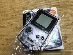 NEW Gameboy Color Clear Purple Console Japan System BRAND NEW FOR COLLECTION