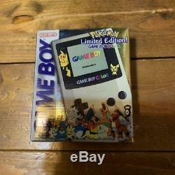 NEW Gameboy Color Pokemon Limited Edition Console GREAT BOX FOR COLLECTION
