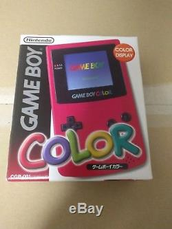 NEW Gameboy Color RED Console System Japan SAME PRICE AS USED CLEARANCE SALE