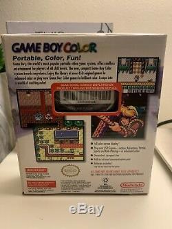 NEW Nintendo Game Boy Color Atomic Purple Handheld System BRAND NEW
