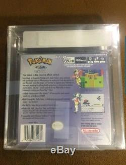 NEW Pokemon Crystal Version VGA GRADED! Factory sealed! (Game Boy Color)