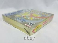 NEW (with Wear) Pokemon Gold Nintendo GameBoy Color Game SEALED AUTHENTIC US NTSC
