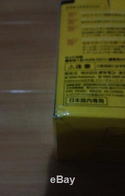 NINTENDO GAME BOY Advance SP Console PIKACHU Limited Color POKEMON Center