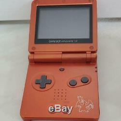 NINTENDO GAME BOY Advance SP Console POKEMON Center Charizard Limited Color