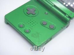 NINTENDO GAME BOY Advance SP Console POKEMON Center Rayquaza Limited Color