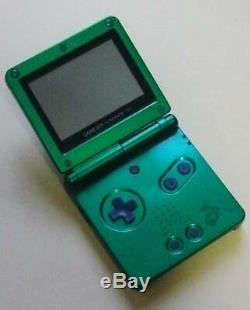 NINTENDO GAME BOY Advance SP Console POKEMON Center Rayquaza Limited Color japan