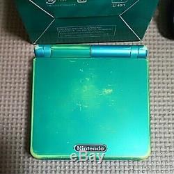 NINTENDO GAME BOY Advance SP Console Venusaur Limited Color POKEMON Center