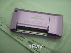 NINTENDO GAME BOY Advance SP Micro Condole System PINK PURPLE Color