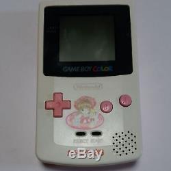 NINTENDO GAME BOY COLOR Cardcaptor Sakura Console Boxed Pre-owned CGB-001 F/S