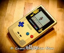 NINTENDO GAME BOY COLOR LIMITED EDITION GOLD Console Only MINT CONDITION