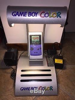 NINTENDO GAME BOY COLOR Shop DISPLAY UNIT Kiosk GAMEBOY USA Raro