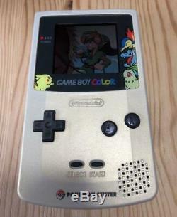 NINTENDO GAME BOY Color POKEMON GOLD & SILVER Edition Japanese
