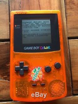 NINTENDO GAMEBOY COLOR LIMITED YEDIGUN EDITION Game Boy Japan MEGA RARE