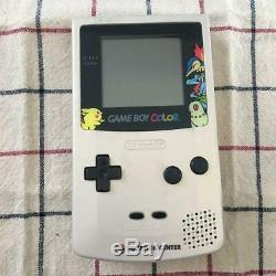 NINTENDO GBC GOLD SILVER Edition Console Pokemon Center Limited GAMEBOY COLOR