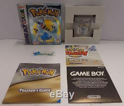 NINTENDO Gioco Game Boy GameBoy Color ITALIANO Silver POKEMON VERSIONE ARGENTO