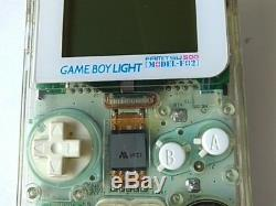 Nintendo GAMEBOY Light FAMITSU 500 Limited Clear Color Console MODEL-F02-X6