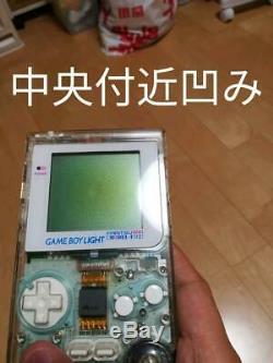 Nintendo GAMEBOY Light FAMITSU 500 Limited Clear Color Console MODEL-F02 retro