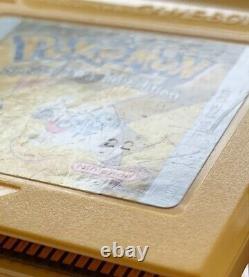 Nintendo GBC Game Boy Color Pikachu Edition console & 6 AUTHENTIC Pokemon games