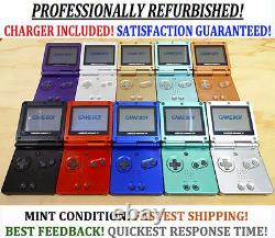 Nintendo Game Boy Advance GBA SP Transparent Clear Green System AGS 001 MINT
