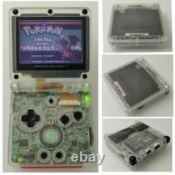 Nintendo Game Boy Advance GBA SP Transparent Clear System AGS 001 MINT NEW