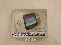 Nintendo Game Boy Advance Platinum Handheld System New Unused