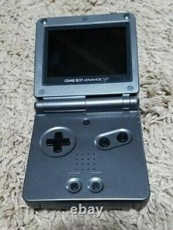 Nintendo Game Boy Advance SP-AGS101-TESTED & WORKING with Game & Charger