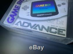 Nintendo Game Boy Advance White New Factory Sealed VGA 95+
