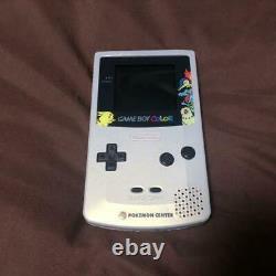Nintendo Game Boy Color Body Pokemon Center Limited Edition Japan USED Fedex R