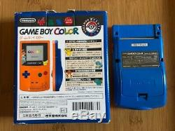 Nintendo Game Boy Color CGB-001 3rd Anniversary Pokemon (Pokémon) Center Japan