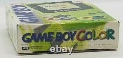 Nintendo Game Boy Color CGB-001- KIWI NEVER OPENED NEW in BOX