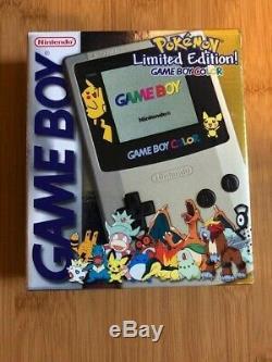 Nintendo Game Boy Color CGB-001 Pokemon (Pokémon) Limited Edition MIB