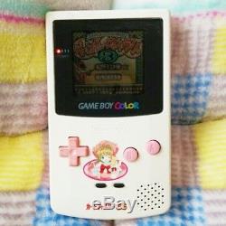 Nintendo Game Boy Color Console CC Sakura Edition GBC 1998 Used Japan F/S SAL