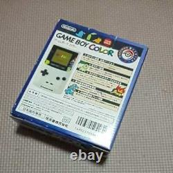 Nintendo Game Boy Color Gold&Silver Pokemon Center Limited Edition Boxed Manual