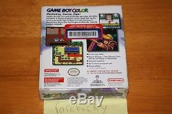 Nintendo Game Boy Color Grape Handheld Launch Console NEW SEALED HOLOSTRIP