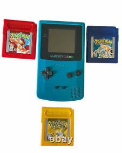 Nintendo Game Boy Color Handheld Game Console Pokemon Bundle