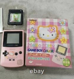 Nintendo Game Boy Color Hello Kitty Pink LimitedWith box With instructions