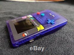 Nintendo Game Boy Color LIGHT Pokemon BennVenn FreckleShack LCD