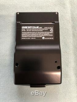 Nintendo Game Boy Color Metal Housing, Backlit Screen, USB Rechargable