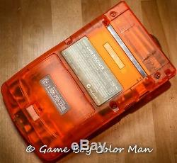 Nintendo Game Boy Color Orange Pikachu Limited Edition MINT CONSOLE ONLY