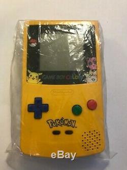 Nintendo Game Boy Color Pok'mon Edition Handheld System Yellow
