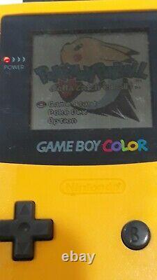 Nintendo Game Boy Color Pokemon 8 Games CRYSTAL GOLD SILVER SPECIAL PINBALL