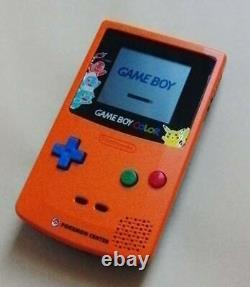 Nintendo Game Boy Color Pokemon Center 3 years Anniversary Console only three