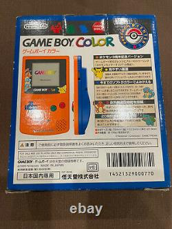 Nintendo Game Boy Color Pokemon Center 3rd Anniversary Limited Edition Boxed