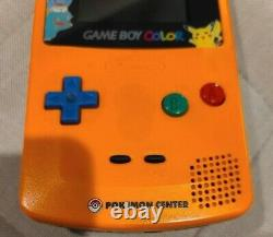 Nintendo Game Boy Color Pokemon Center Anniversary Edition NO RESERVE